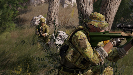 Arma3用オーストラリア軍MOD