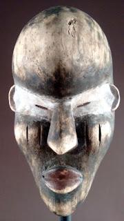 Máscara Galoa. Frontal