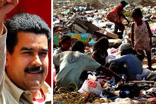 VENEZUELA condenada en la absoluta pobreza gracias al DICTADOR Nicolas Maduro