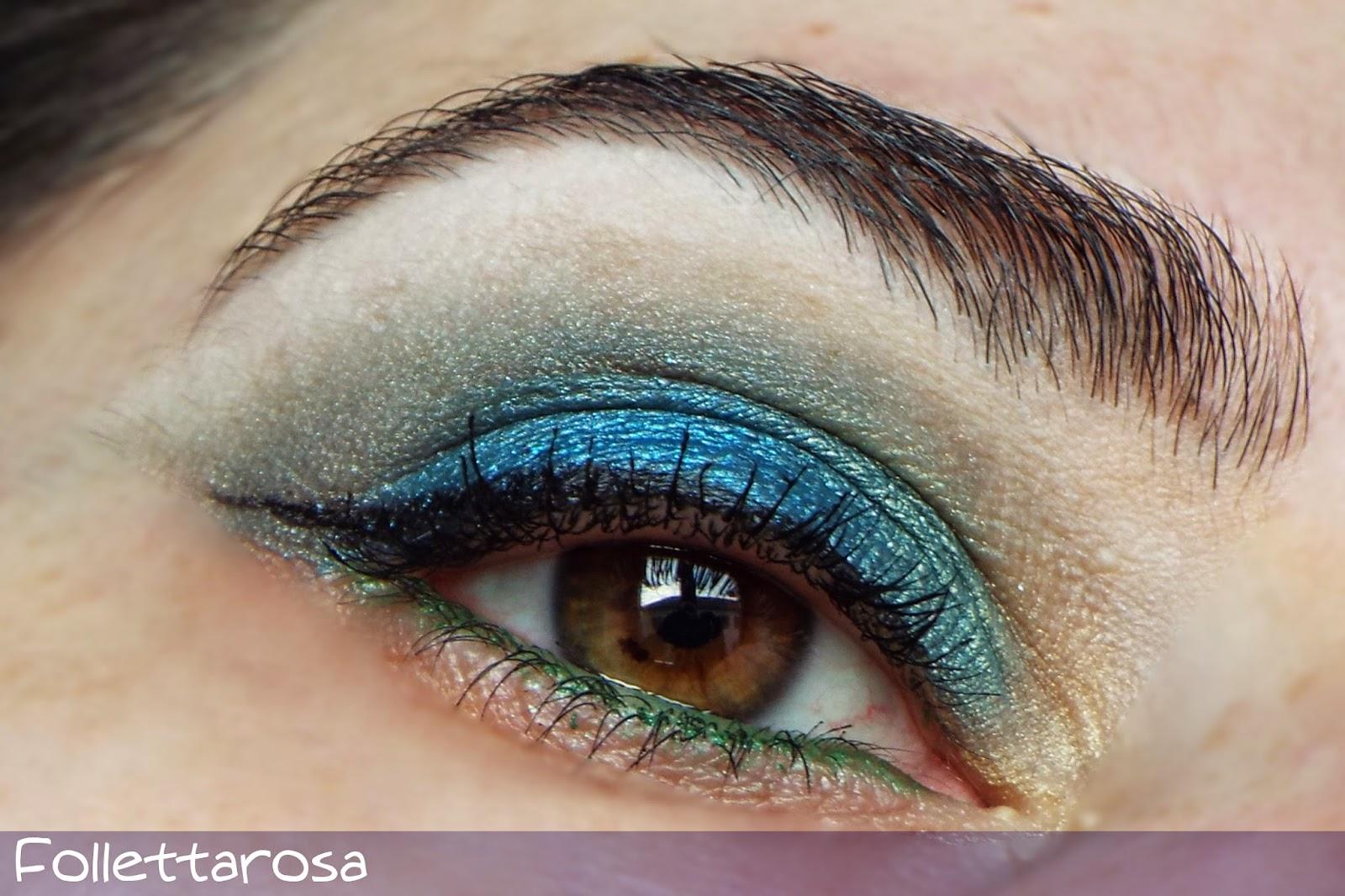 make up blu primavera 2015
