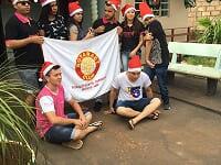 Rotaract realiza visita a Associação Espírita Beneficente Anésio Siqueira de Populina