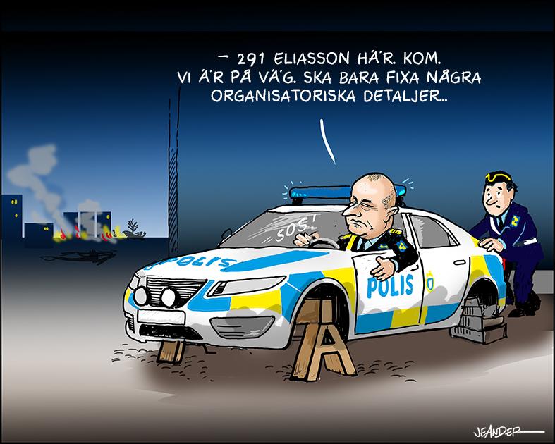 JEANDERS BILDBLOGG: Poliskris!