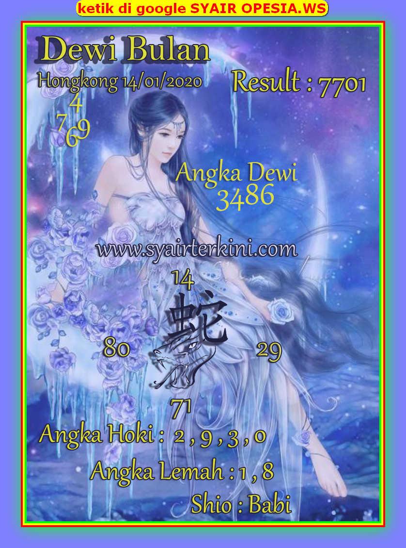 Kode syair Hongkong Selasa 14 Januari 2020 94