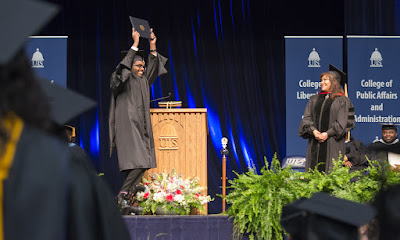 UIS graduates a record number of students during the 46th annual commencement