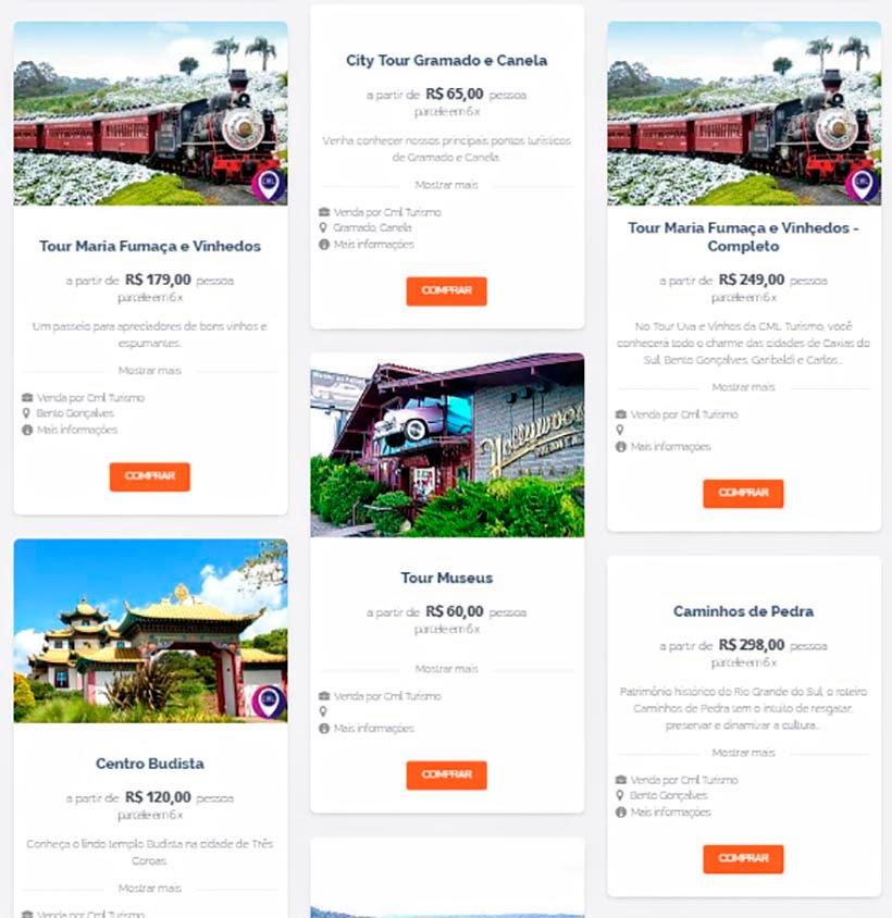 Ingressos on-line: como comprar e contratar transfer, tours e passeios - Bela Viagem