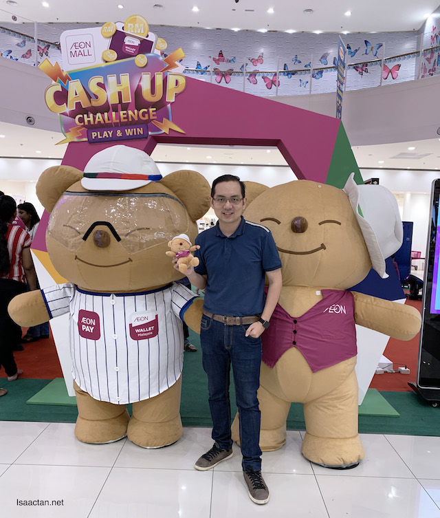 AEON Wallet Cash Up Challenge @ AEON Mall Shah Alam