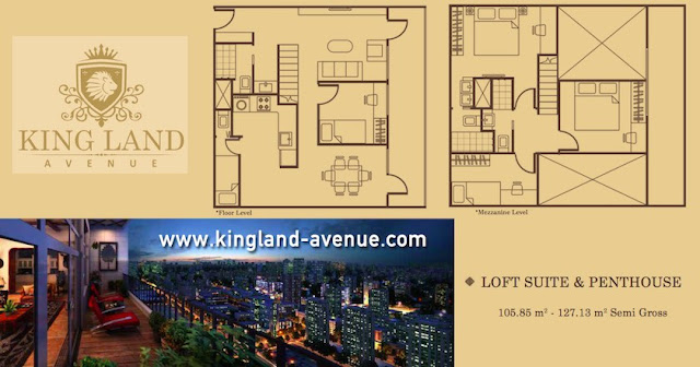 Kingland Avenue Serpong Apartment Penthouse Suites