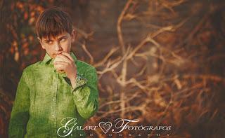 Fotografía de Comunión. Galart Fotógrafos.