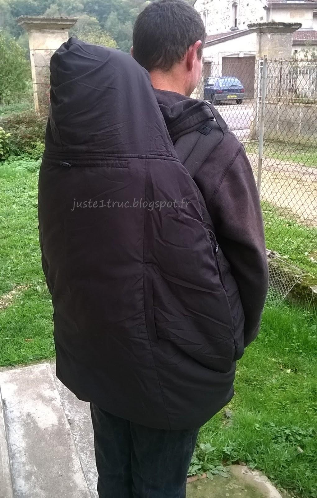 couverture portage lucky porter bébé chaud hiver manteau veste 63aa1e78618