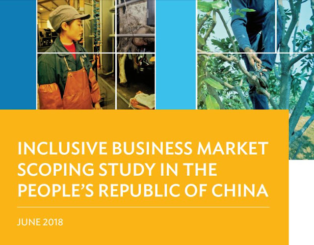 INCLUSIVE BUSINESS MARKET SCOPING STUDY IN THE PEOPLE'S REPUBLIC OF CHINA