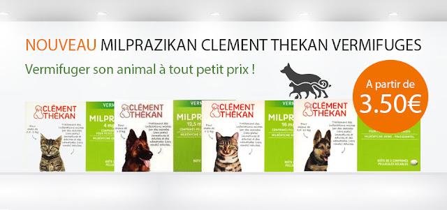 Vermifuge Milprazikan Clément Thekan