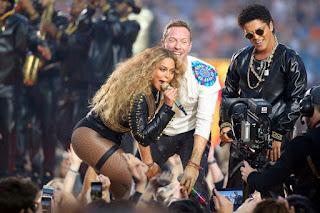 Beyoncé, Bruno Mars, Coldplay, Chris Martin, Super bowl halftime, Super bowl 50