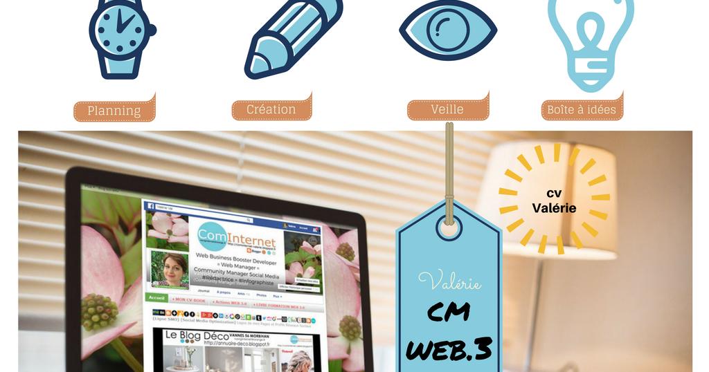 cominternet community manager web designer val vannes