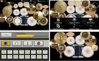 Aplikasi belajar musik terbaik drum kit