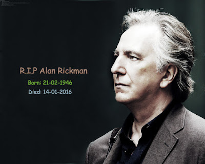 English Actor, Director Alan Rickman Dies At Age 69 ~ Stylish Fashion Trend