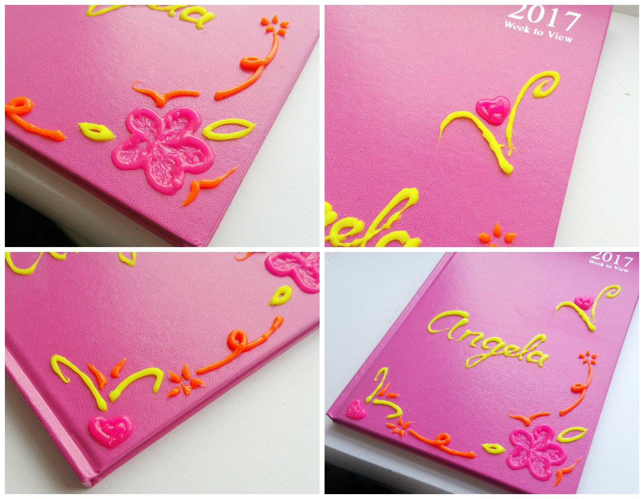 Gel a Peel UK, Design a Diary, Design planner cover