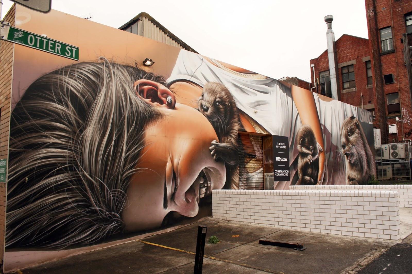 Street Art Melbourne 2017 B Smug Ling Cherrie Buttons Cam Scale Goodie Kitt Bennet Man Of Darkness Shida Shaun Lu Loretta Lizzio Odeith Putos Simplesime Makatron Graffitis Du Monde Street Art