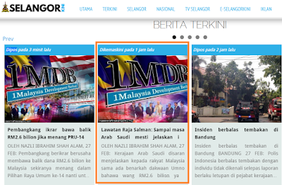 Saran Perjelas Derma RM2.6 Bilion,Skandal Zaman Mahathir Bila Mahu Perjelaskan?