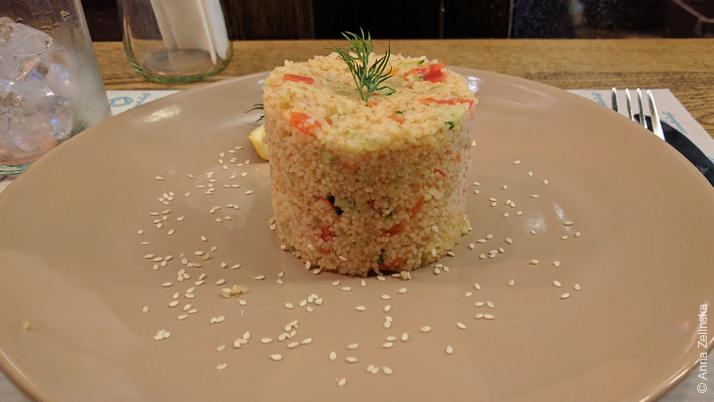 Блюдо в кафе «Глинтвейня», Киев