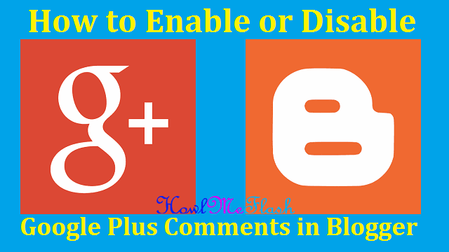 google plus commenting system on blogger