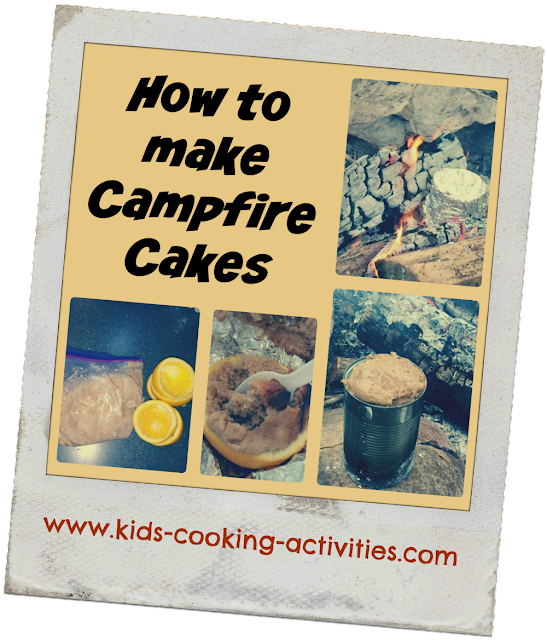 How To Make Campfire Cakes