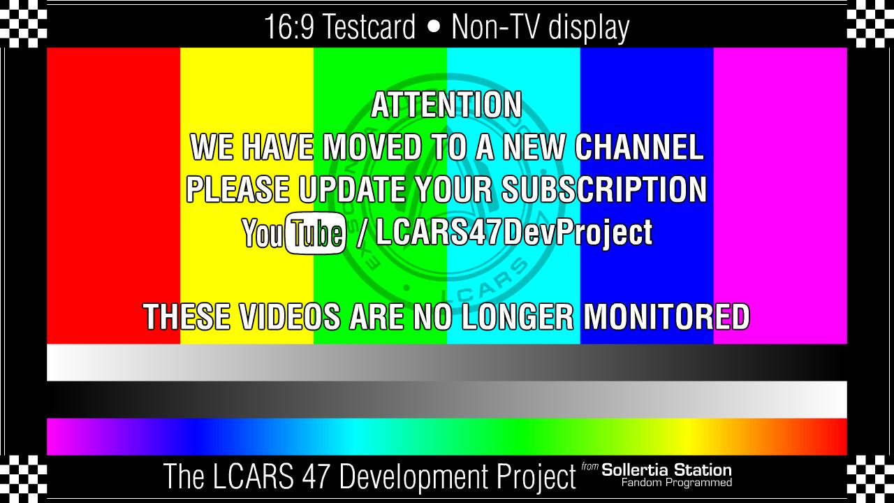 LCARS 47: MSD Cutaway Development Videos