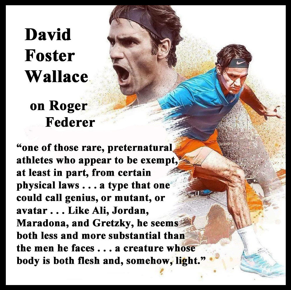 TIMELESS TENNIS: Tennis Quote of the Day: Author David ...