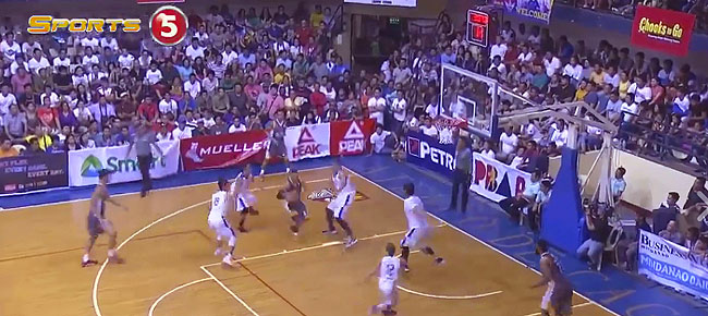 PBA Mindanao All-Stars' GREAT Ball Movement vs. Gilas Pilipinas (VIDEO)
