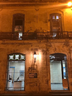A colonial house in Havana