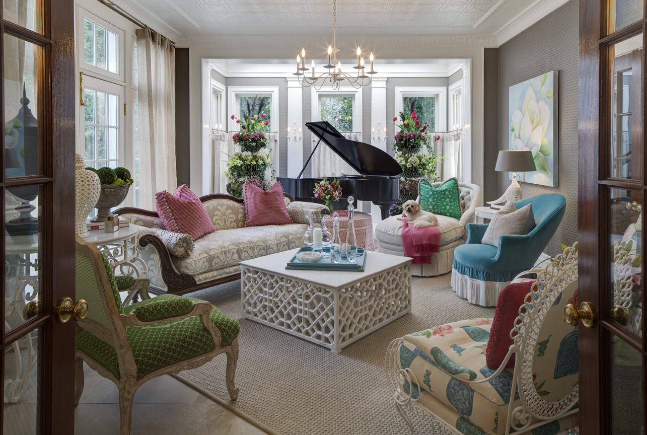 Whimsical traditional in chicago the glam pad - Pinterest home interiors ...