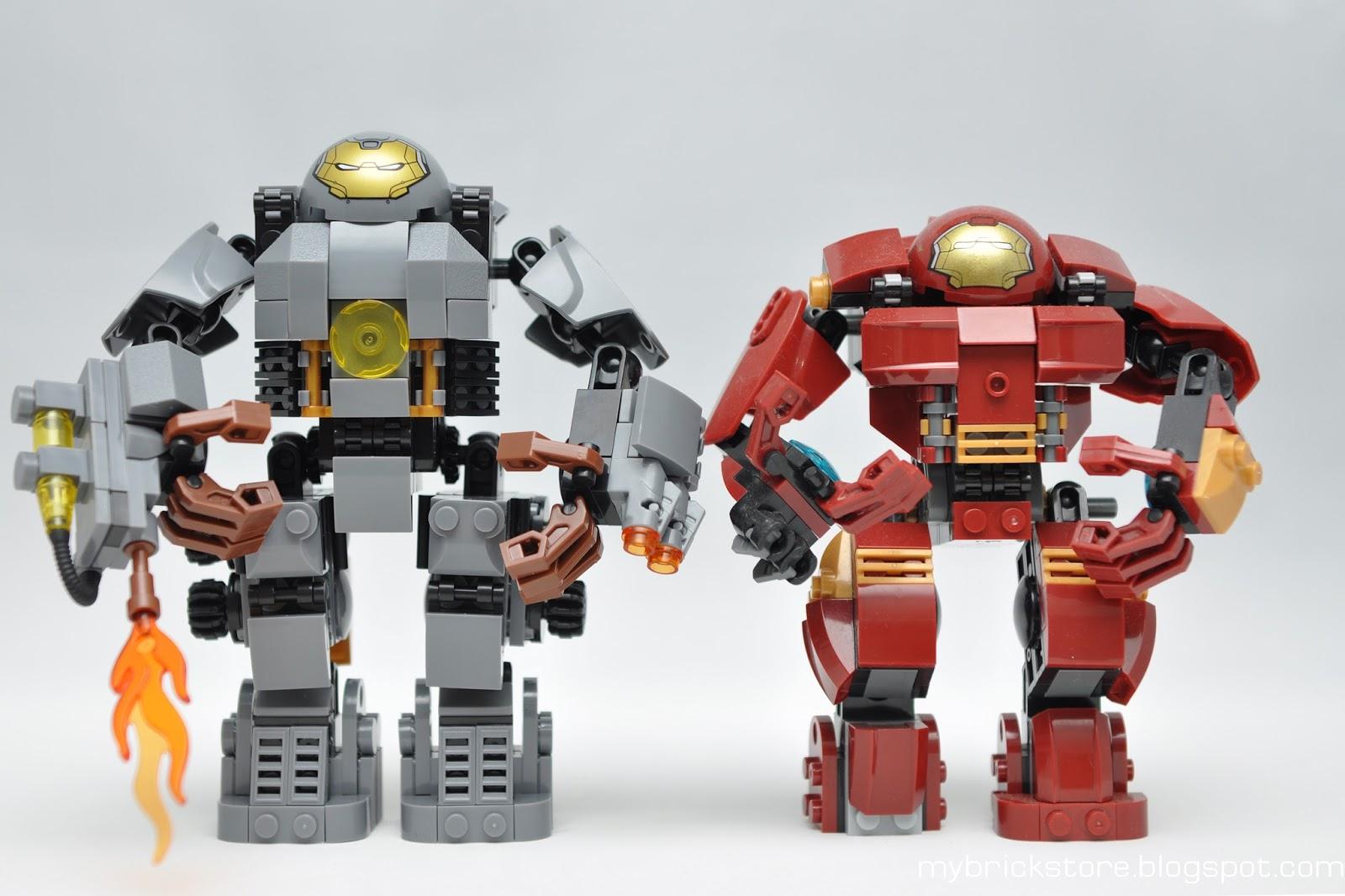 My Brick Store: Sheng Yuan MK1 Iron Man