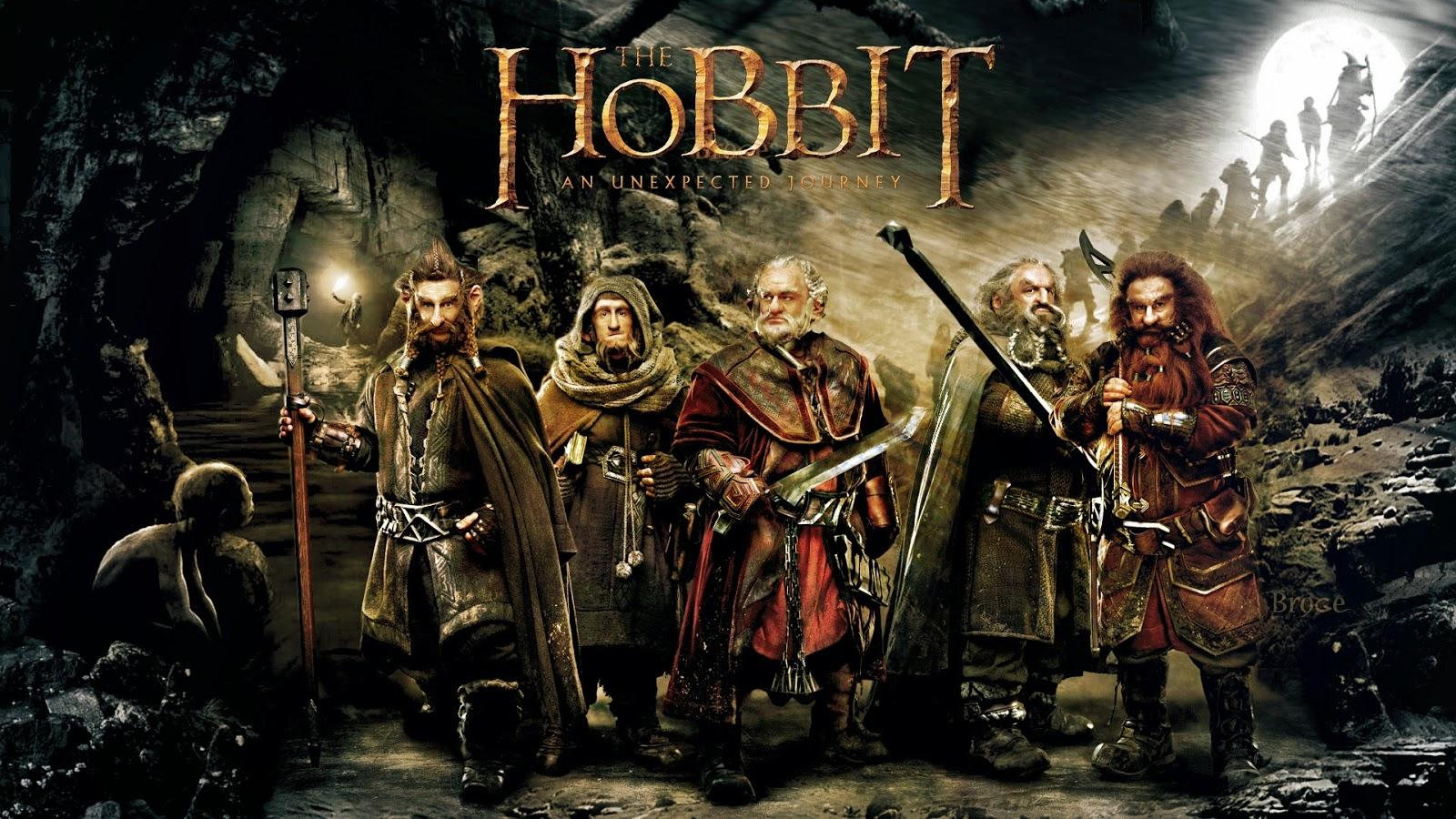 Cartel de la pelicula El Hobbit, un viaje inesperado