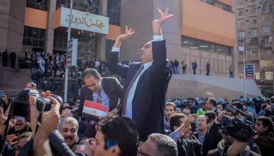 المحامى خالد على