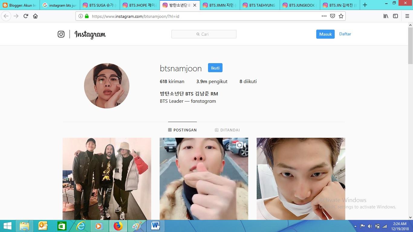 Unduh 300 Wallpaper Bts Instagram HD Gratis