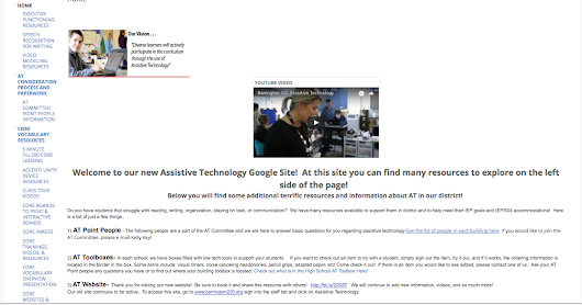 Assistive Technology Resources Site