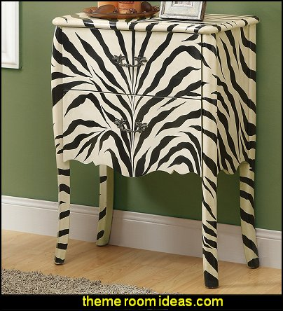 zebra Bombay Chest