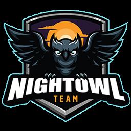logo burung hantu hitam