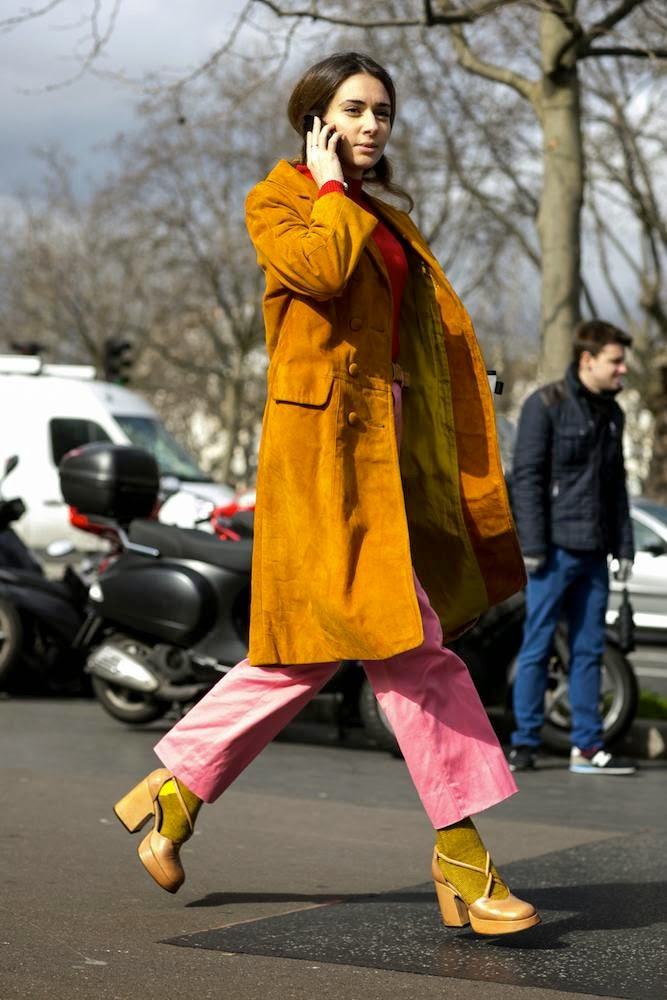 The Best street style from Paris Fashion Week fall 2015
