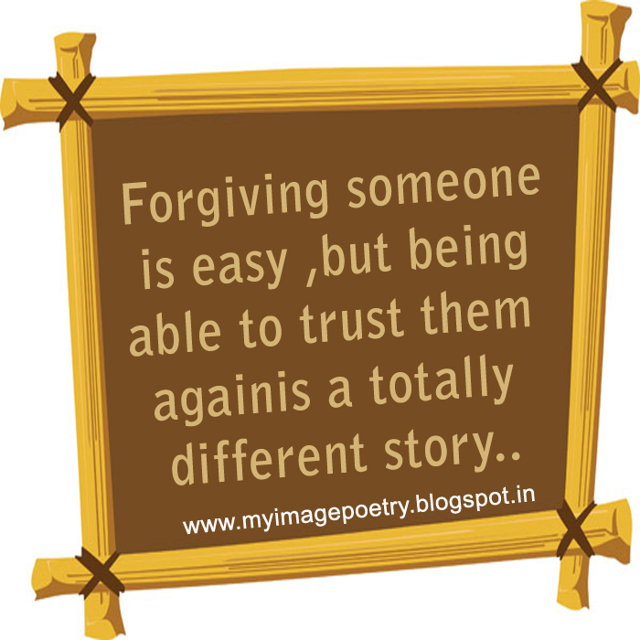 Image Poetry: Quote Image On Trust