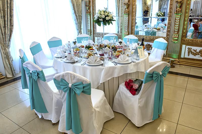 Dekoration Russische Hochzeit Swadba Hallendekoration