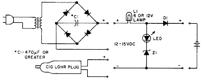 Ni-cad Charger Circuit Diagram