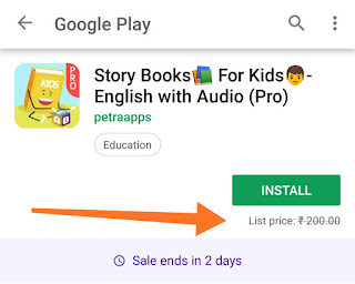 English Story Books For Kids With Audio - paid android app free download