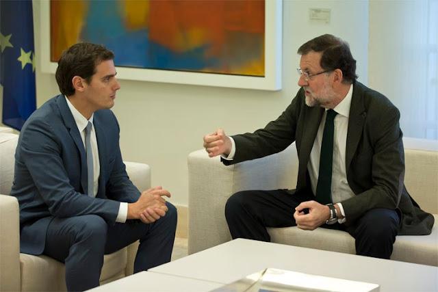 El PP desmiente haber ofrecido la vicepresidencia a Rivera