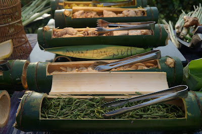 Sayuran hutan, menu dayak di Hotel Hilton Miri