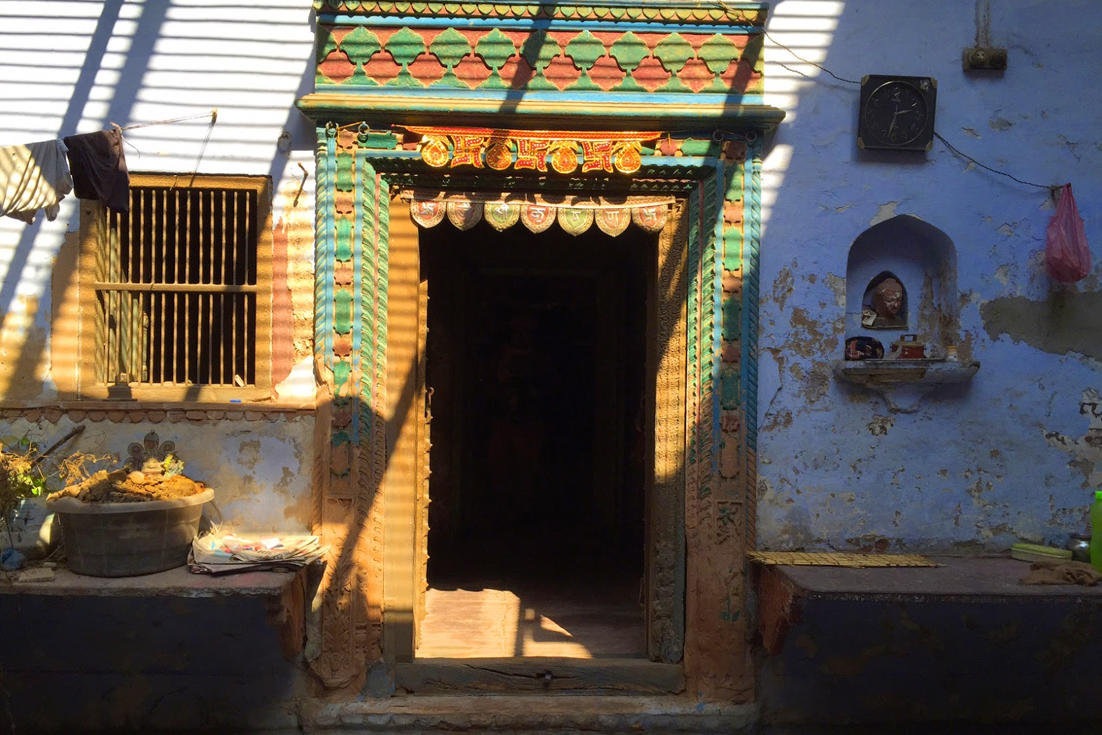 Places to see in Mathura doors of temple