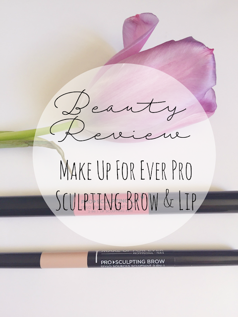Make Up For Ever Pro Sculpting Brow and Lip Review