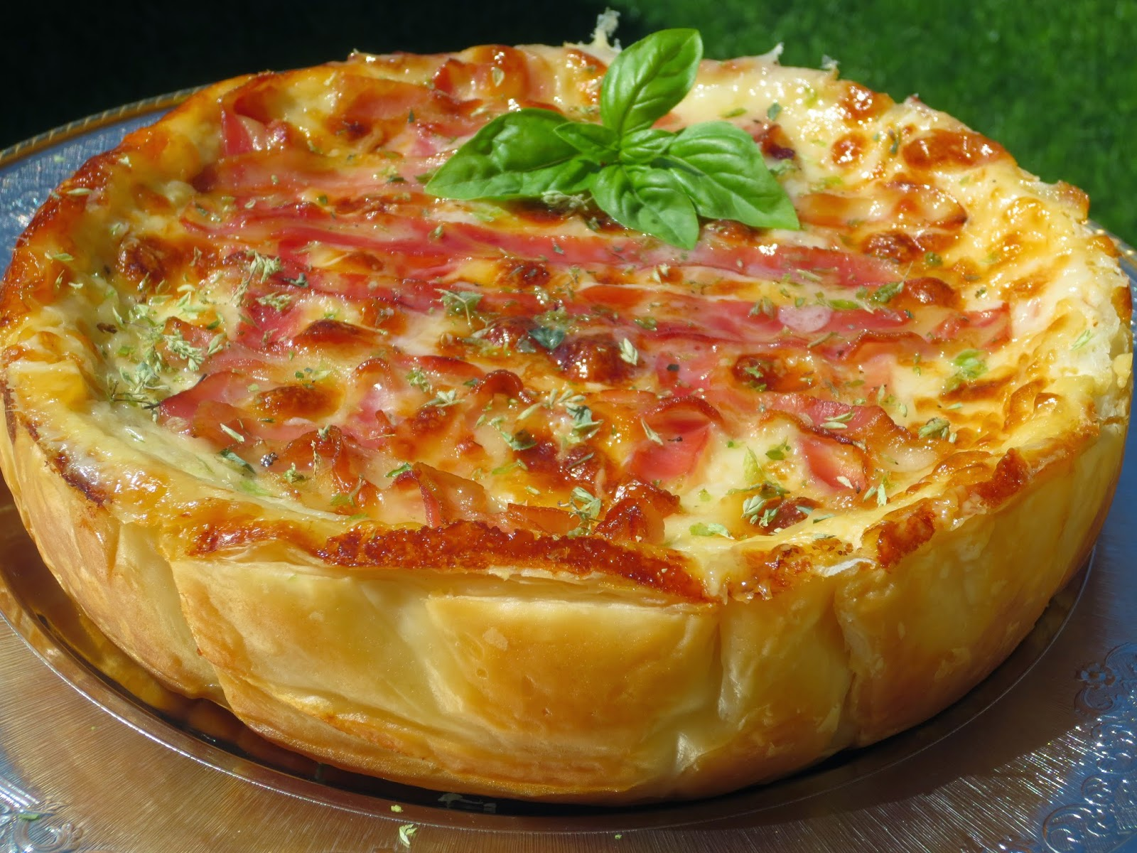 Quiche de croque-pizza olla GM