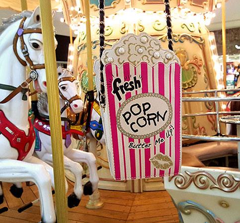 Pink Outfit Ideas Betsey Johnson Popcorn Purse