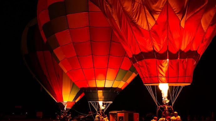 Wallpaper: Sonoma County Hot Air Ballon
