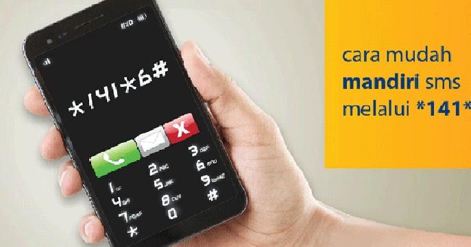 Cara Transfer SMS Bank Mandiri
